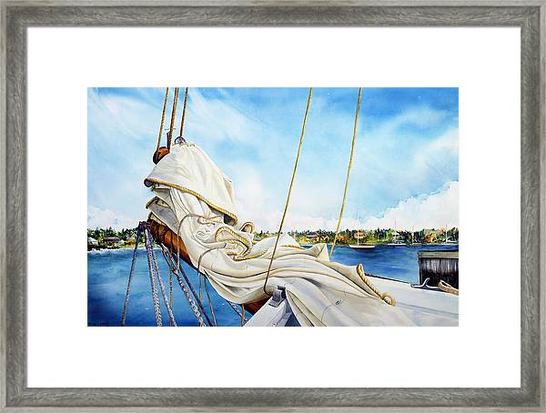 A. J. Meerwald Heading Out Framed Print