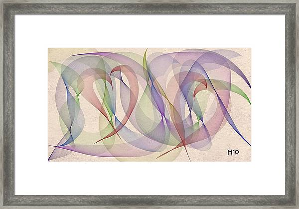 A L S Awareness  Framed Print