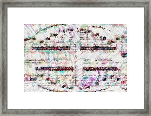 A Light Bulb Framed Print
