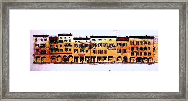 A Little Bit Of Bologna Framed Print
