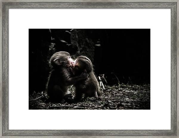A Little Love Story Framed Print