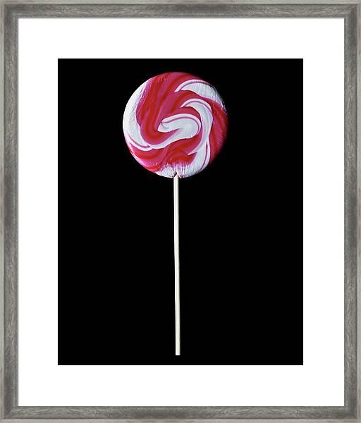 A Lollipop Framed Print
