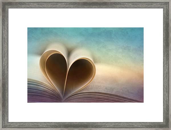 A Love Story Framed Print