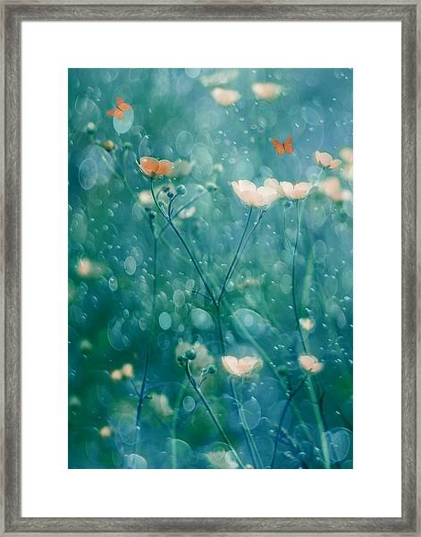 A Memory Of June Framed Print by Delphine Devos