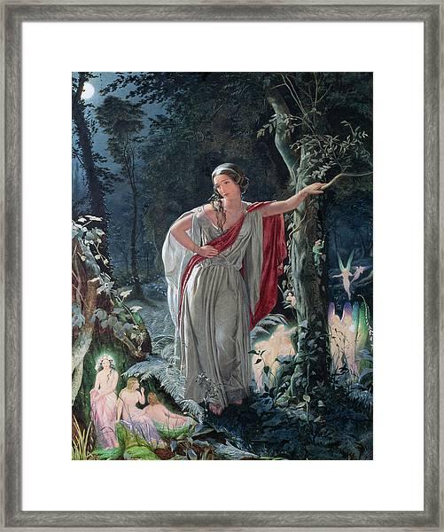 A Midsummer Nights Dream Hermia Framed Print