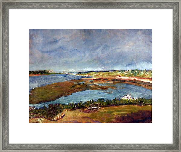A Million Dollar View Framed Print