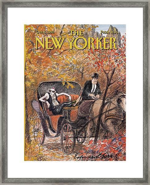 New Yorker October 5th, 1992 Framed Print
