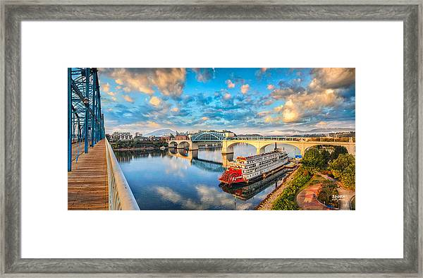 A Morning View Framed Print