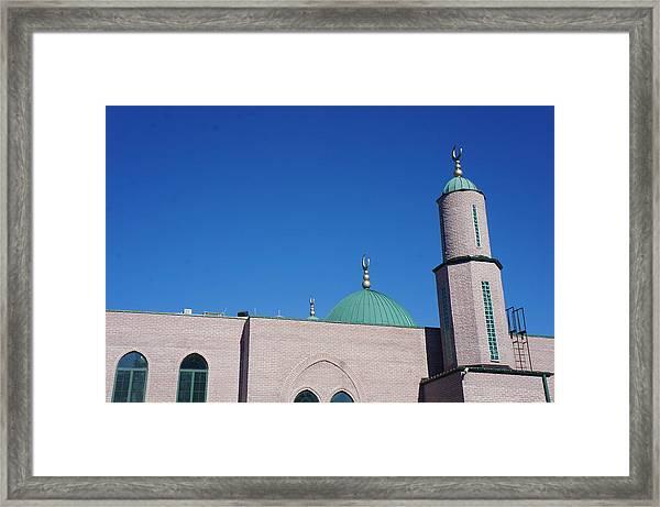 A Mosque Framed Print