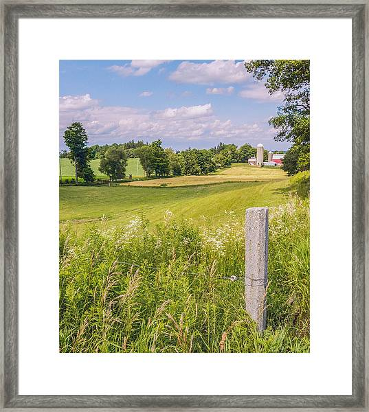 Framed Print featuring the photograph A Nation's Bread Basket  by Garvin Hunter