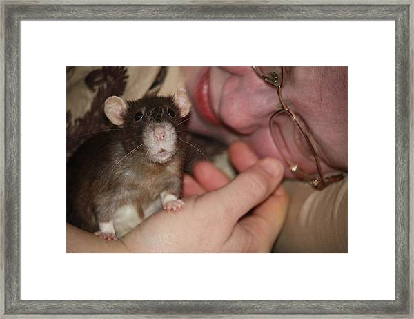 A New Kind Of Intimacy No Two Framed Print