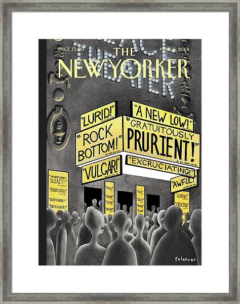 A New Low Framed Print