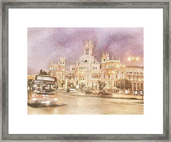 A Night In Madrid  Framed Print