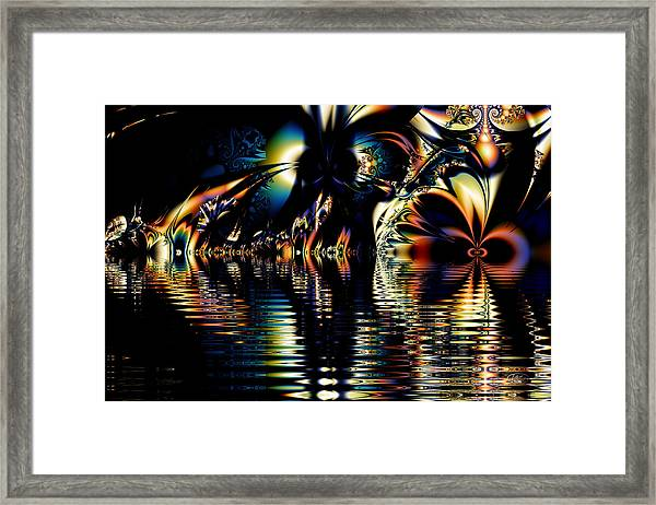 A Night On The Water Framed Print