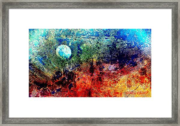 A Night Sky Framed Print by Currie Silver