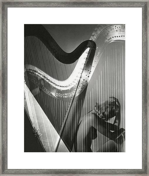 A Nude Portrait Of Lisa Fonssagrives Framed Print