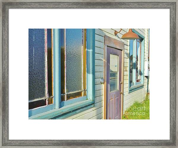 A Painted House Framed Print
