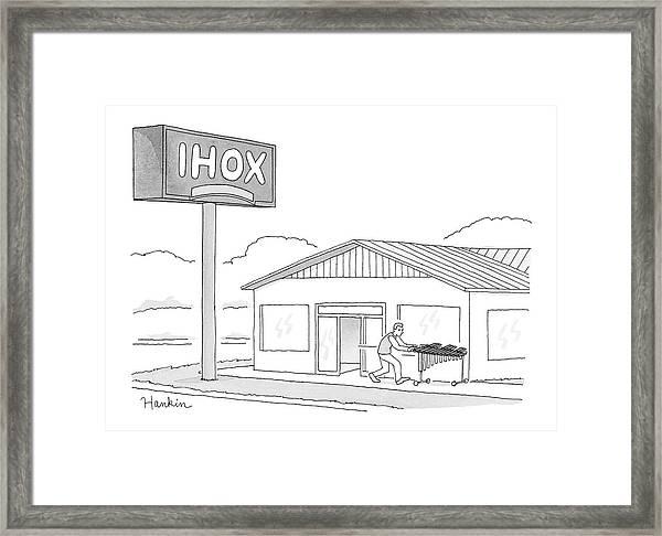 Ihox Framed Print