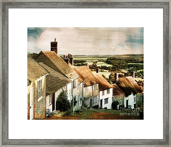 A Past Revisited Framed Print
