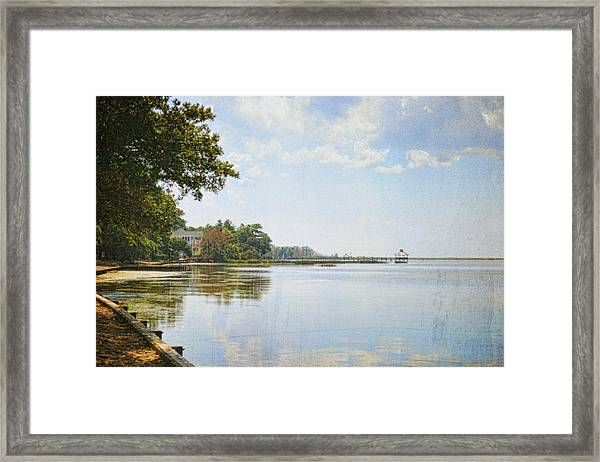 A Perfect Currituck Day Framed Print