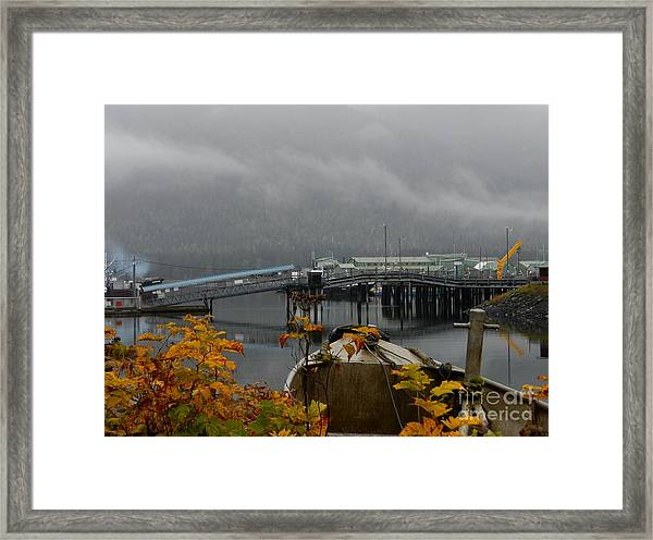 A Petersburg Fall Framed Print