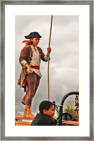 A Pirates Life Framed Print by Al Fritz