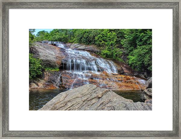A Place To Cool Off Framed Print