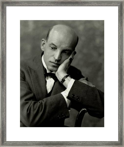 A Portrait Of Theodore Komisarjevsky Framed Print