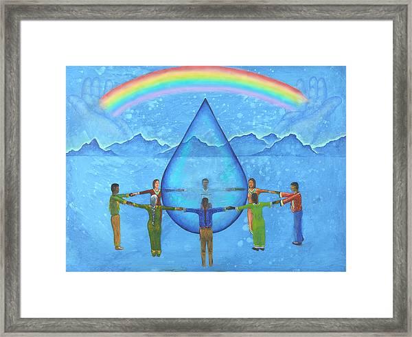 A Prayer For Water Framed Print