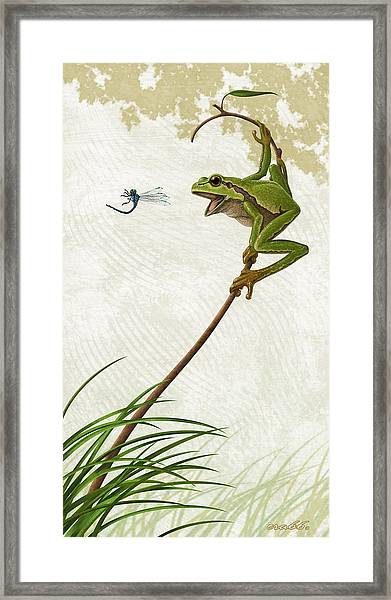 A Propitious Wind Framed Print