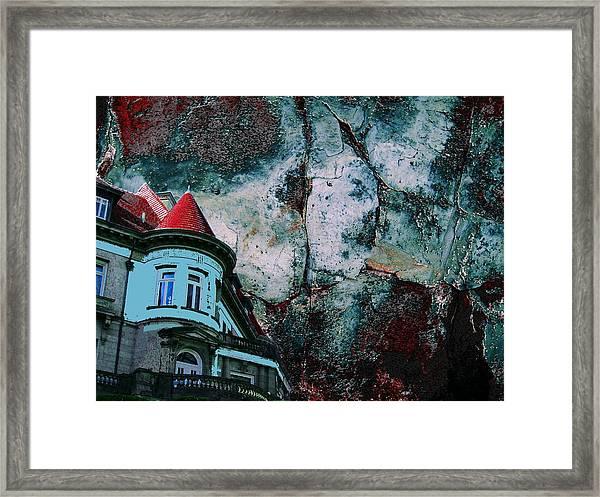 A Pulp Foundation Framed Print