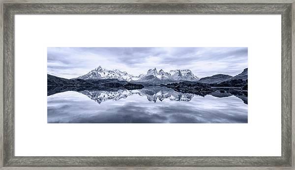 A Quiet Day Framed Print by Carlos Guevara Vivanco