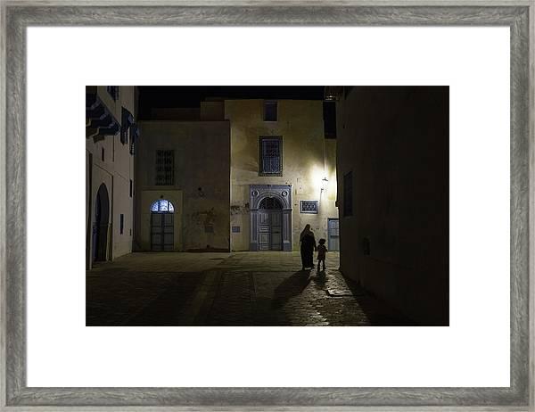 A Quiet Evening In Kairouan Framed Print