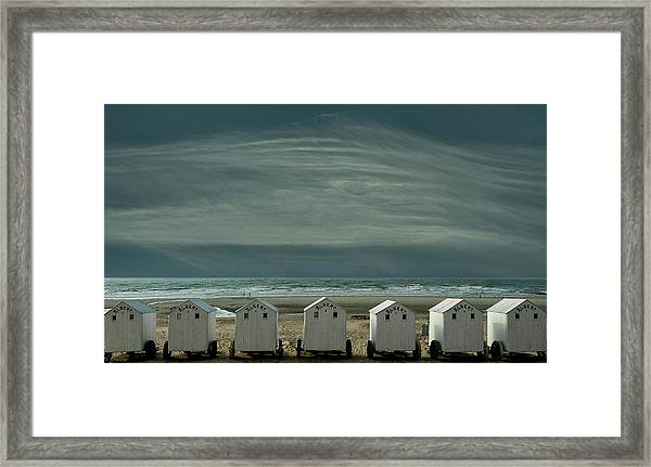 A Quiet Spot By The Sea, Just To 'be' ... Framed Print