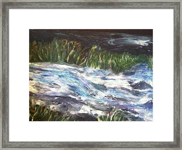 A River Runs Through Framed Print