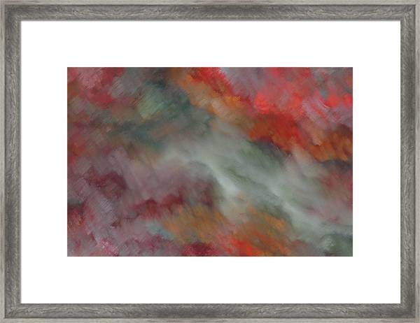 A River Tuscany Framed Print