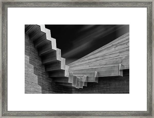 A Roof By Calatrava Framed Print