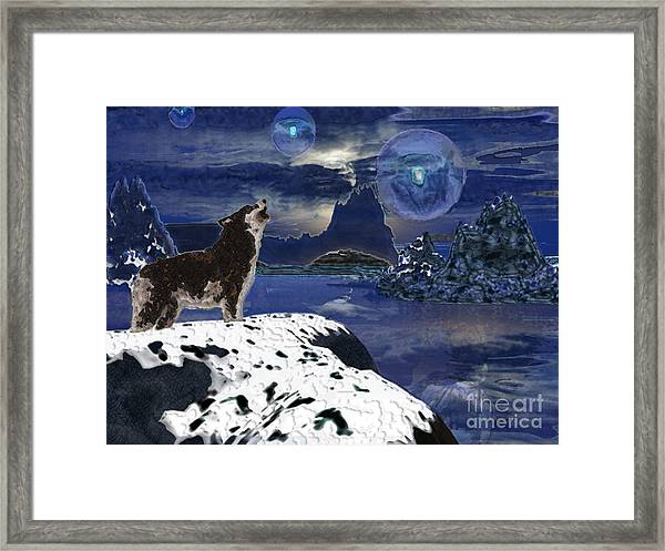 A Seekers Call Framed Print