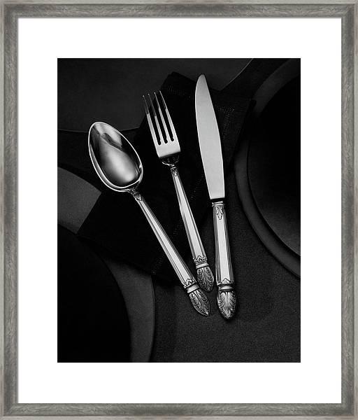 A Silver Spoon Framed Print