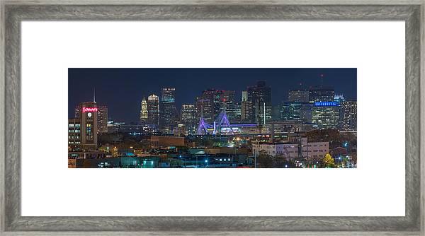 A Somerville View Framed Print