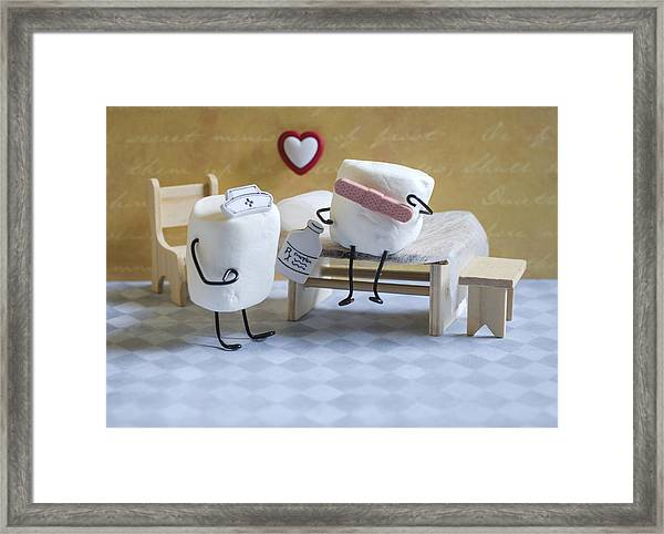 A Spoonful Of Sugar Framed Print