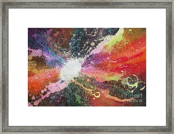 A Star Is Born Framed Print