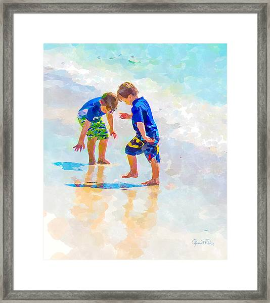A Summer To Remember Iv Framed Print