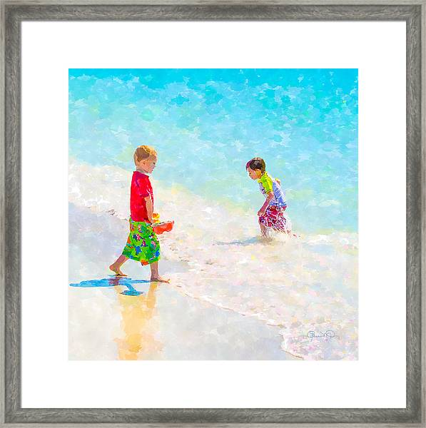 A Summer To Remember V Framed Print