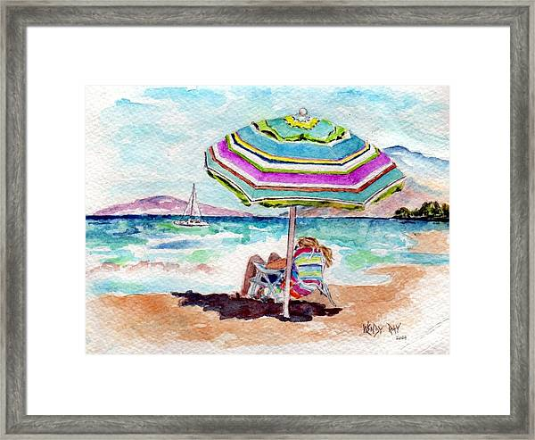 A Sweet Day In Maui Framed Print