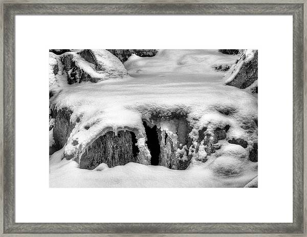 A Tad Chilly  Framed Print by JC Findley
