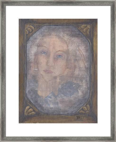 A Tear For A Memory Framed Print
