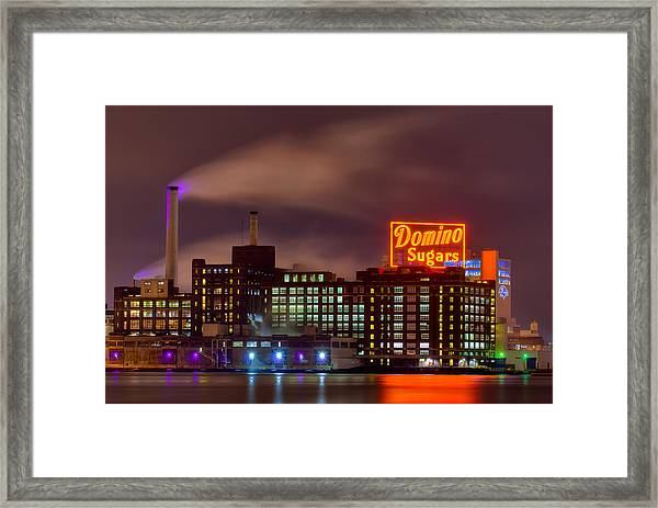 A Touch Of Color With A Wisp Of Smoke Framed Print
