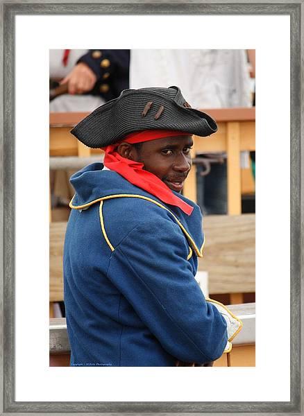 A True Pirate Framed Print by Al Fritz