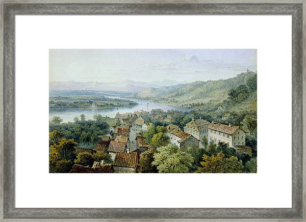 A View Of Karlsruhe Framed Print